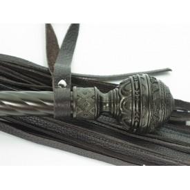 Коричневая плеть-скипетр - 63 см.
