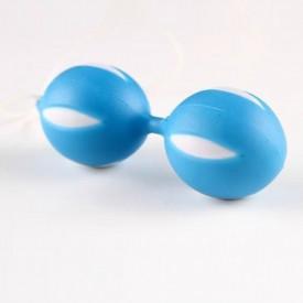 Голубые вагинальные шарики SMART BALLS в блистере